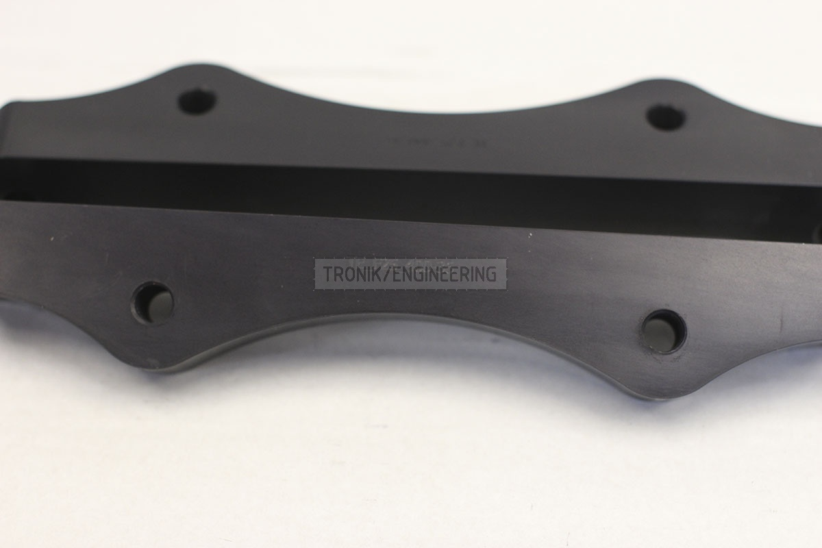 BMW F25/F26 adapters by Tronik to install 400-36 rotor from M5 F10. pic 2