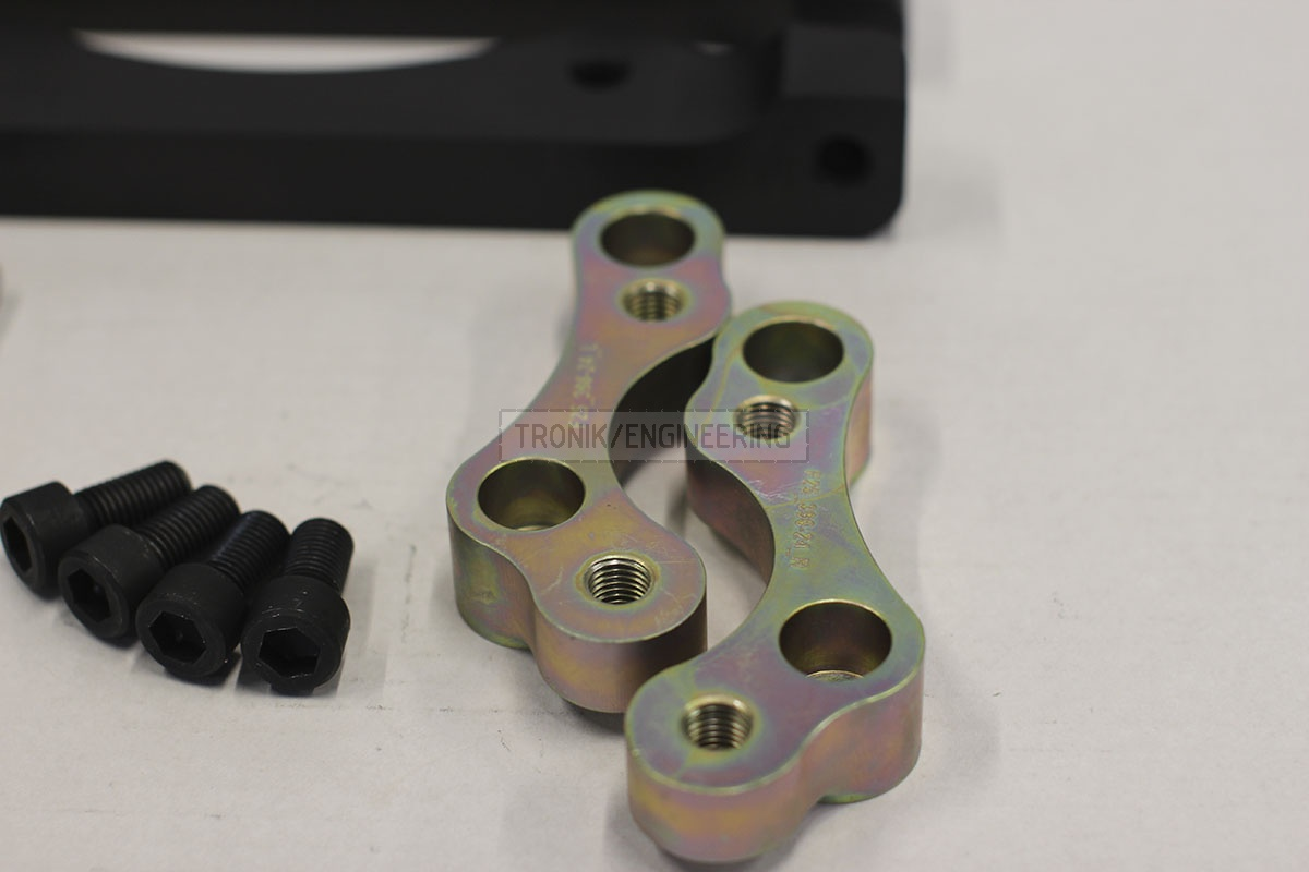 BMW F25/F26 adapters by Tronik to install M5 F10 brakes. pic 9