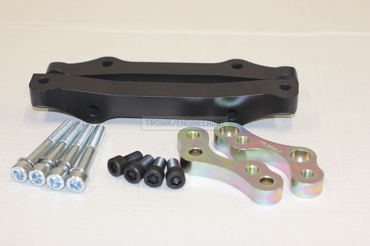 BMW F10 adapters by Tronik to install M5 F10 brakes. pic 1