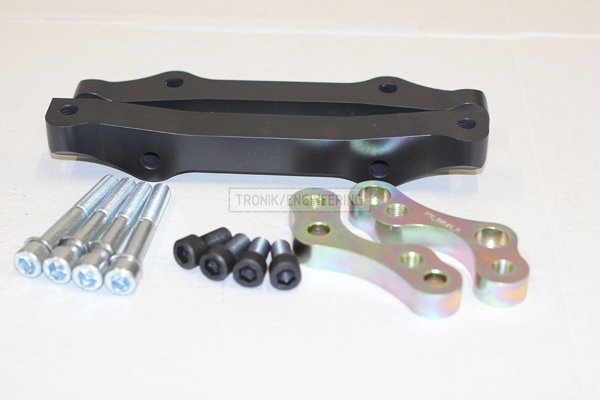 BMW F10 adapters by Tronik to install M5 F10 brakes. pic 6