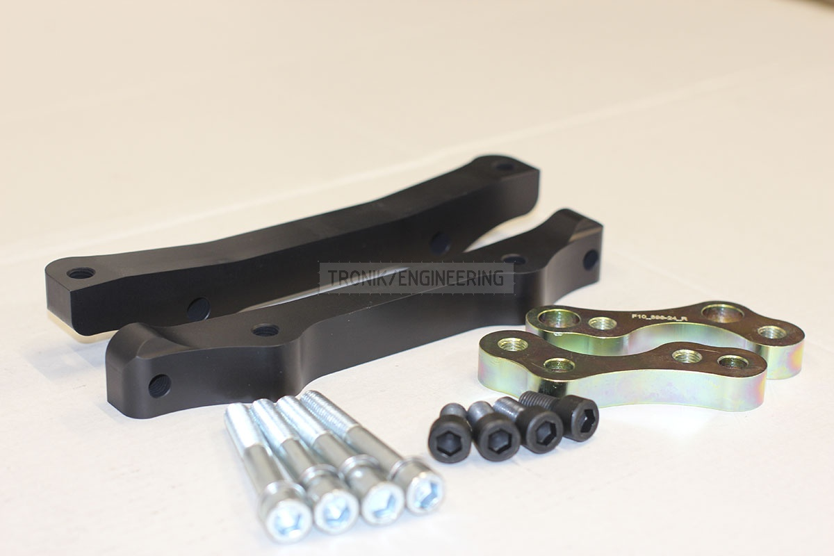 BMW F10 adapters by Tronik to install M5 F10 brakes. pic 5