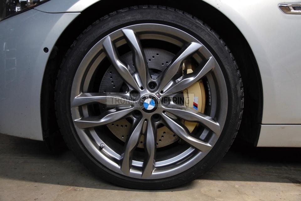 Installed BMW F10 font brake system. pic 2