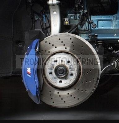 Front brake pad 395*36 and 6-pot caliper