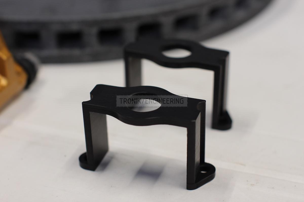 clamping bracket of parking brakes servo pic 1