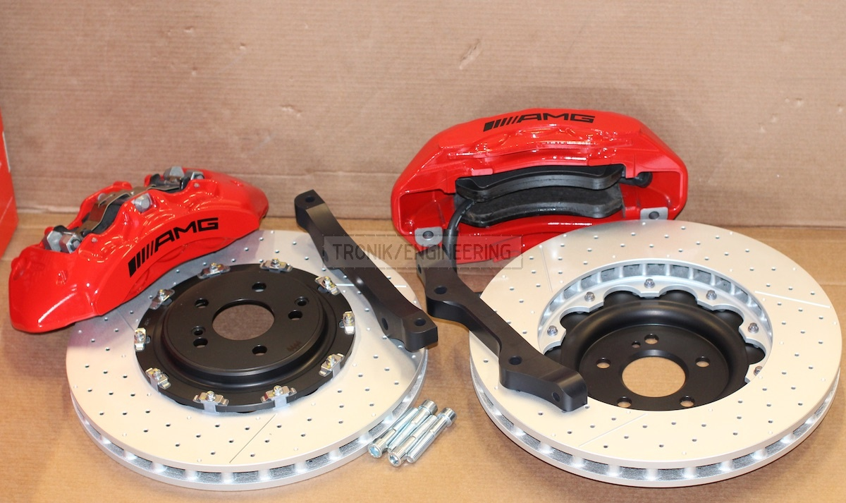 brake system Mercedes Benz W205 W213 W253 not for 63AMG version front axle