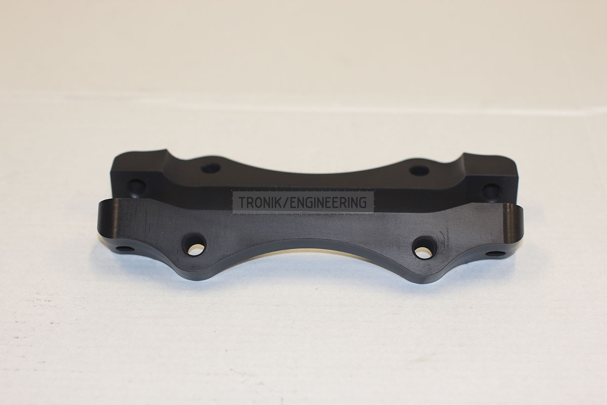 BMW adapters by Tronik to install 345-28 rotor from M3 E46 CSL. pic 4