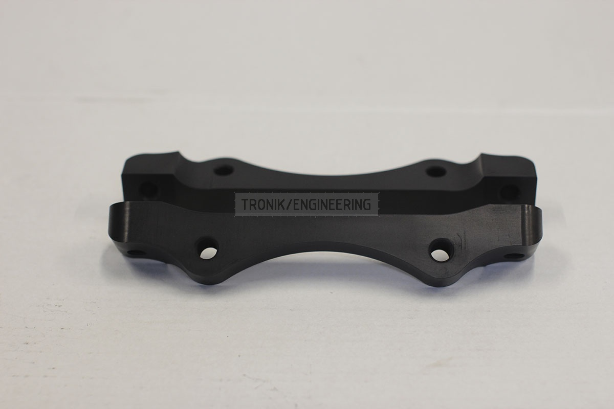 BMW adapters by Tronik to install 345-28 rotor from M3 E46 CSL. pic 5