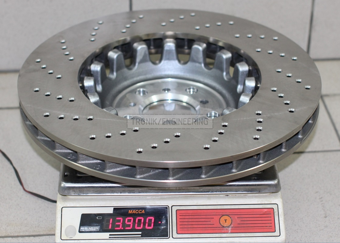 Brake rotor BMW M5 F10 400 mm diameter, 36 mm thick pic 2