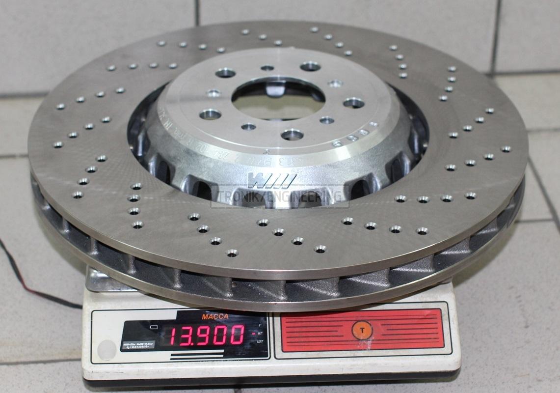Brake rotor BMW M5 F10 400 mm diameter, 36 mm thick