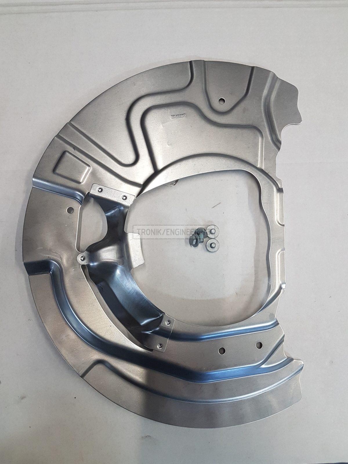 front brake rotor dust shield