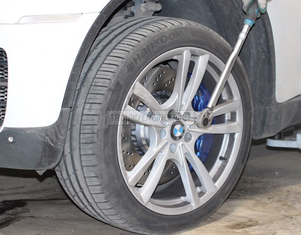 lower the car wheel 5mm off the floor