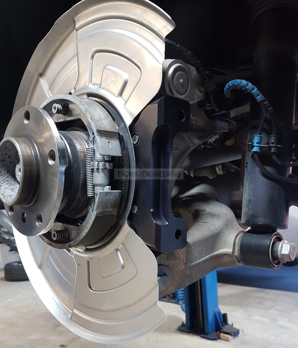 rear brake caliper adapter
