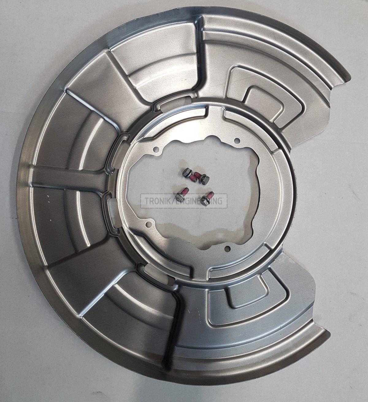 rear brake pad dust shield