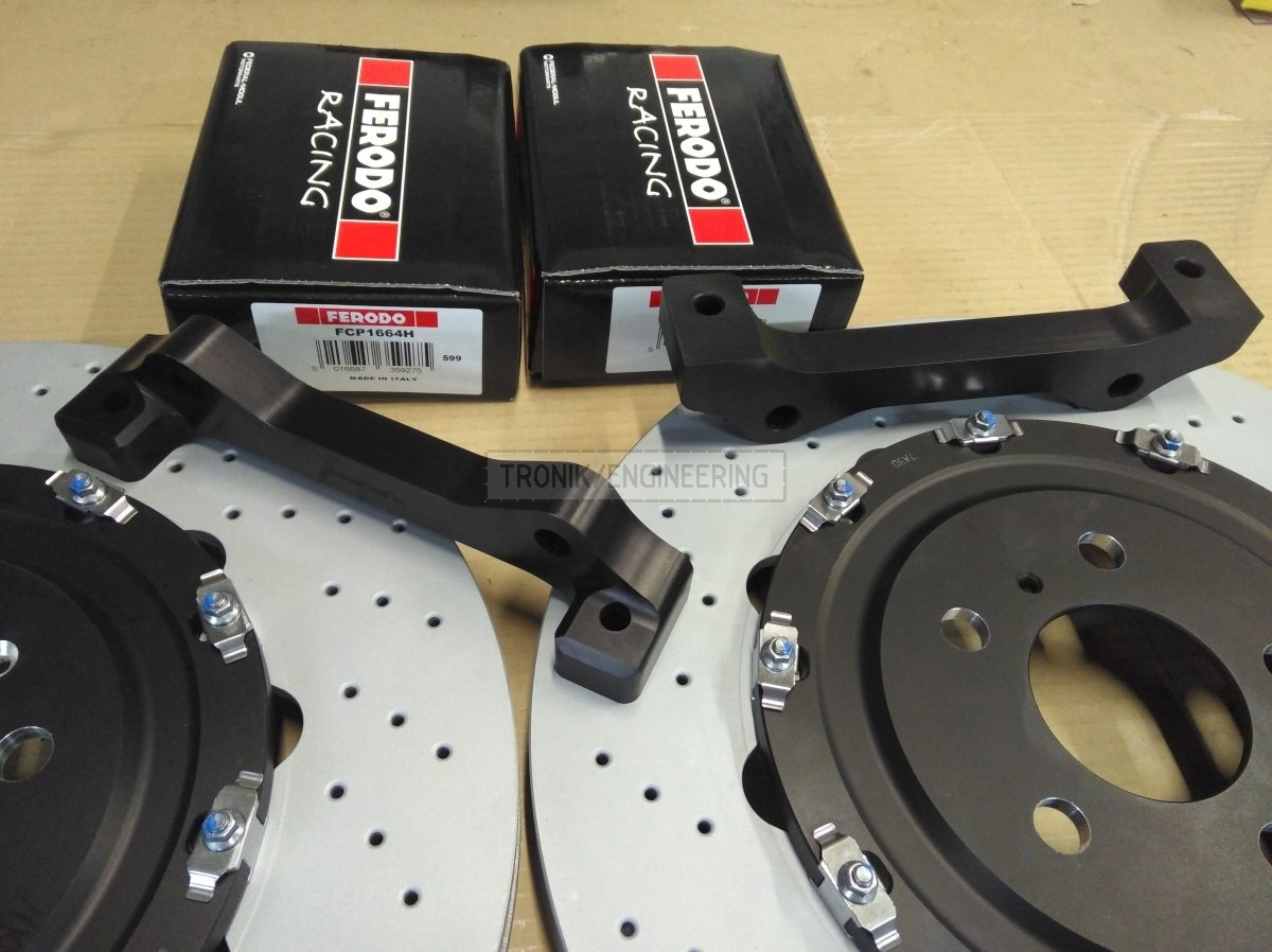 adapters made by Tronik & Brembo brake pads