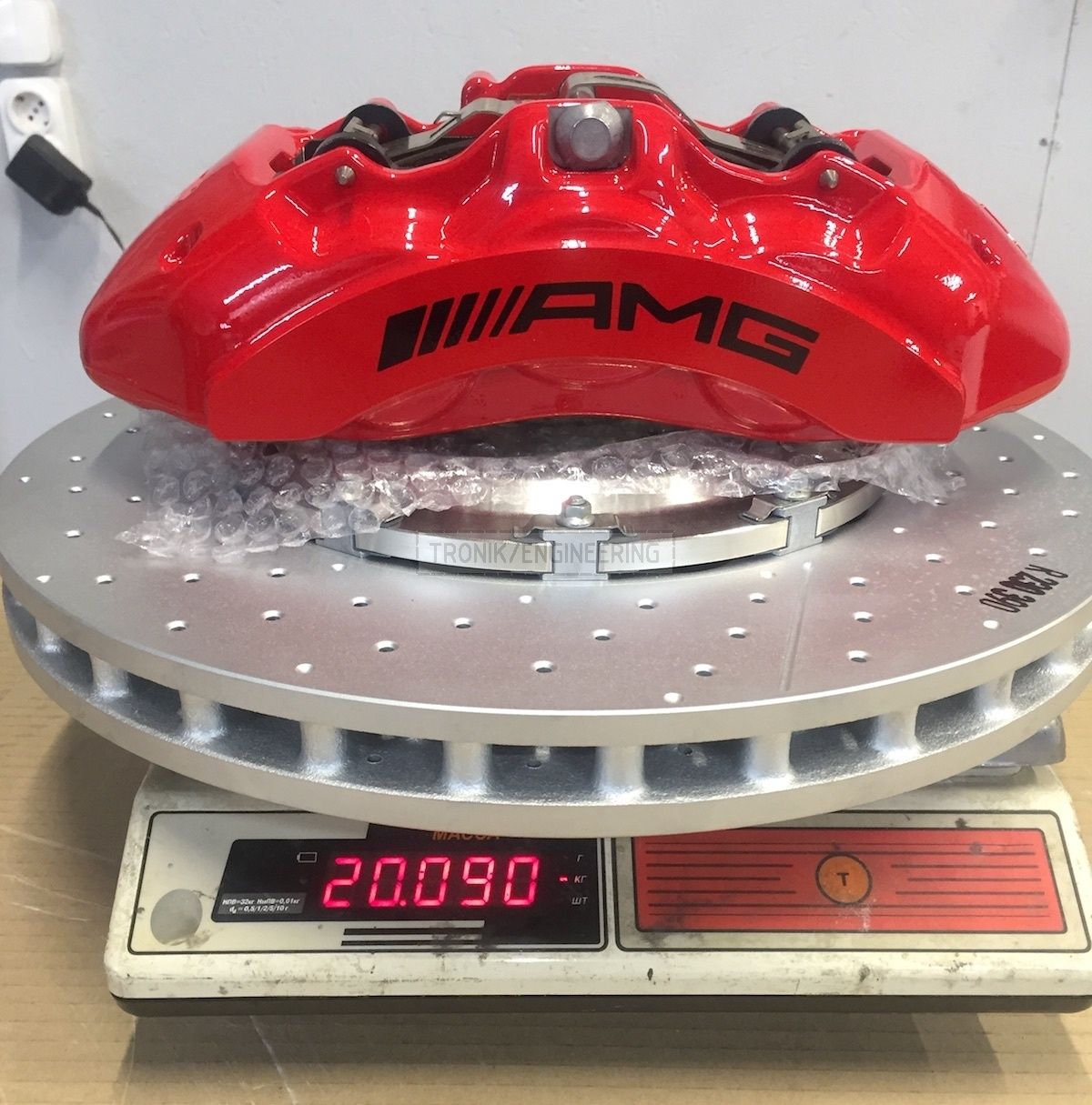 assembled brake system set weight is 20 kg