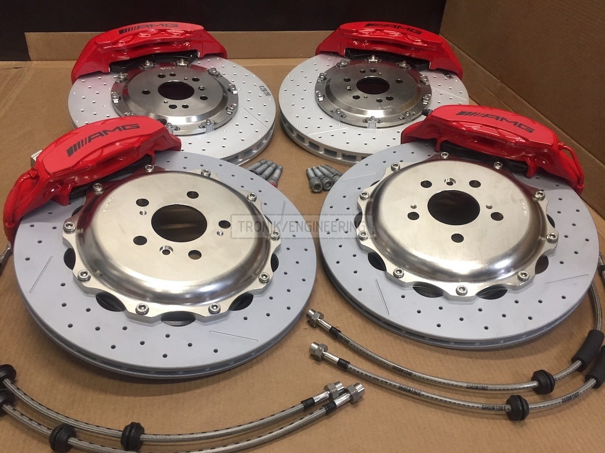 assembled brake system set