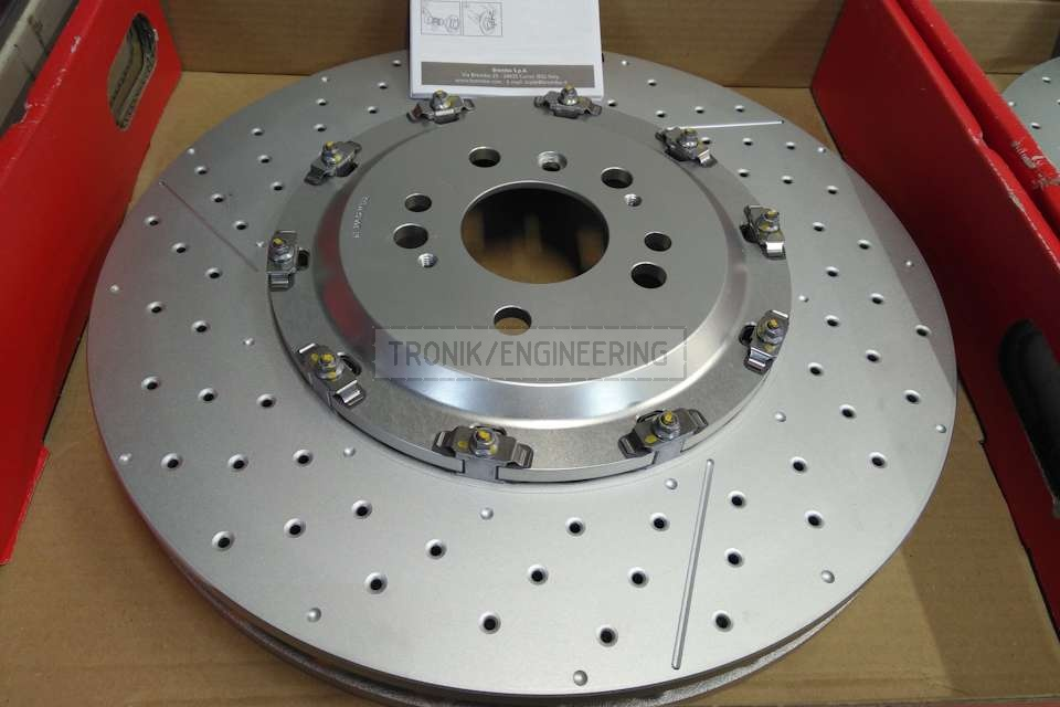 front axle brake rotor Mercedes-Benz W166 63 AMG