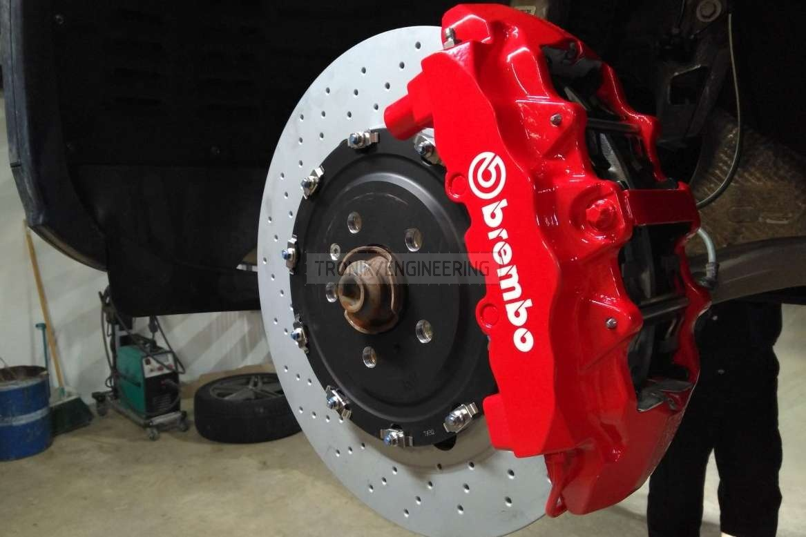 front axle brake system Audi SQ5 from Tronik pic1