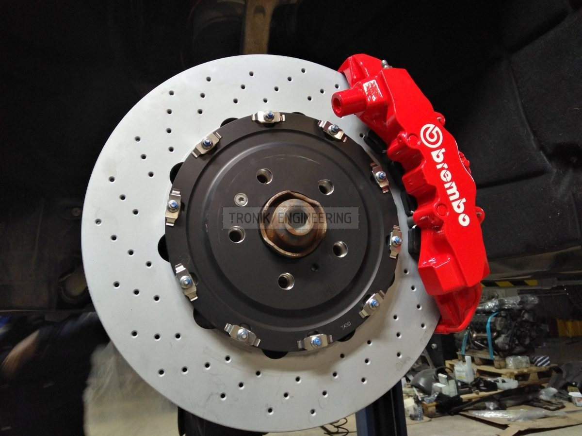 front axle brake system Audi SQ5 from Tronik pic2