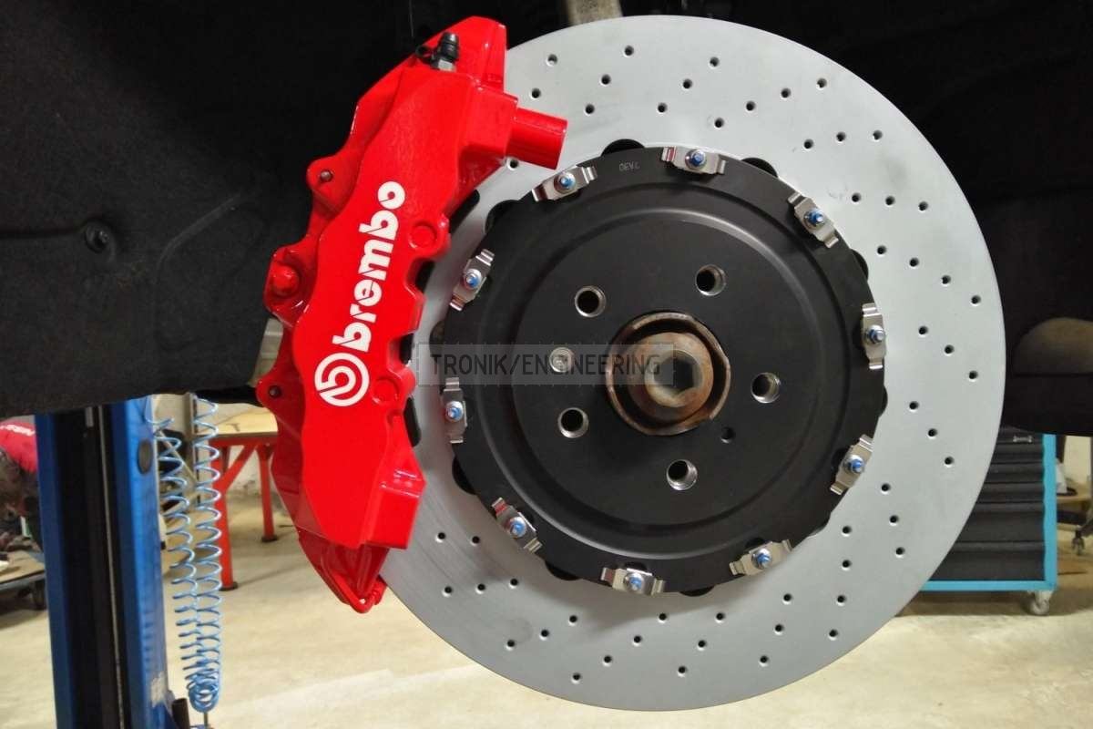 front axle brake system Audi SQ5 from Tronik pic3