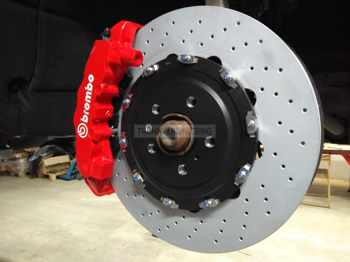 front axle brake system Audi SQ5 from Tronik pic4