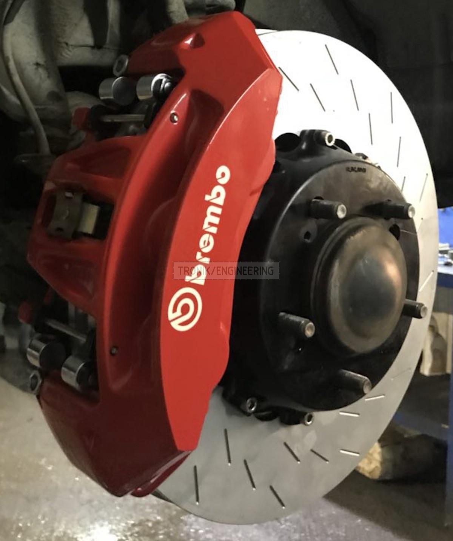 system & Brembo 6 pot caliper & rotor 410-36 pic1