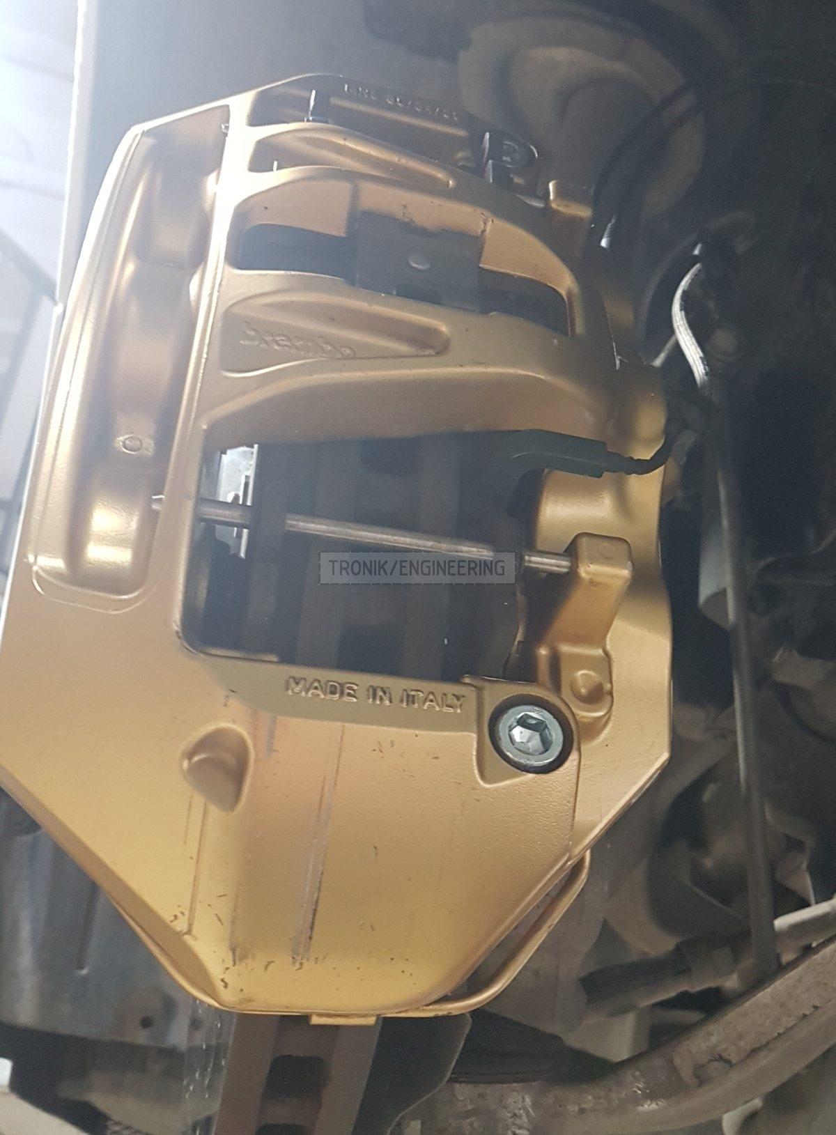 front axle caliper