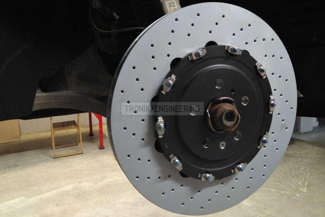 front brake rotor installed Audi SQ5