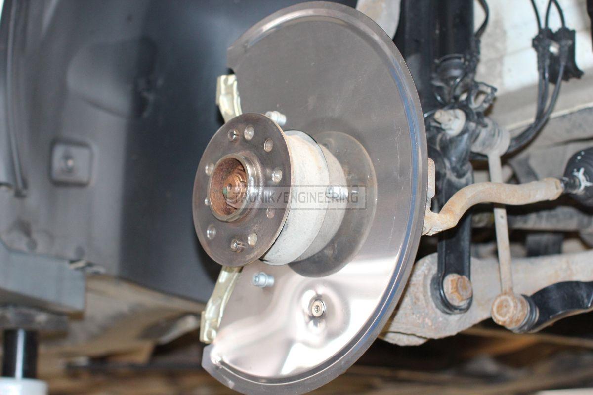 front rotor shield