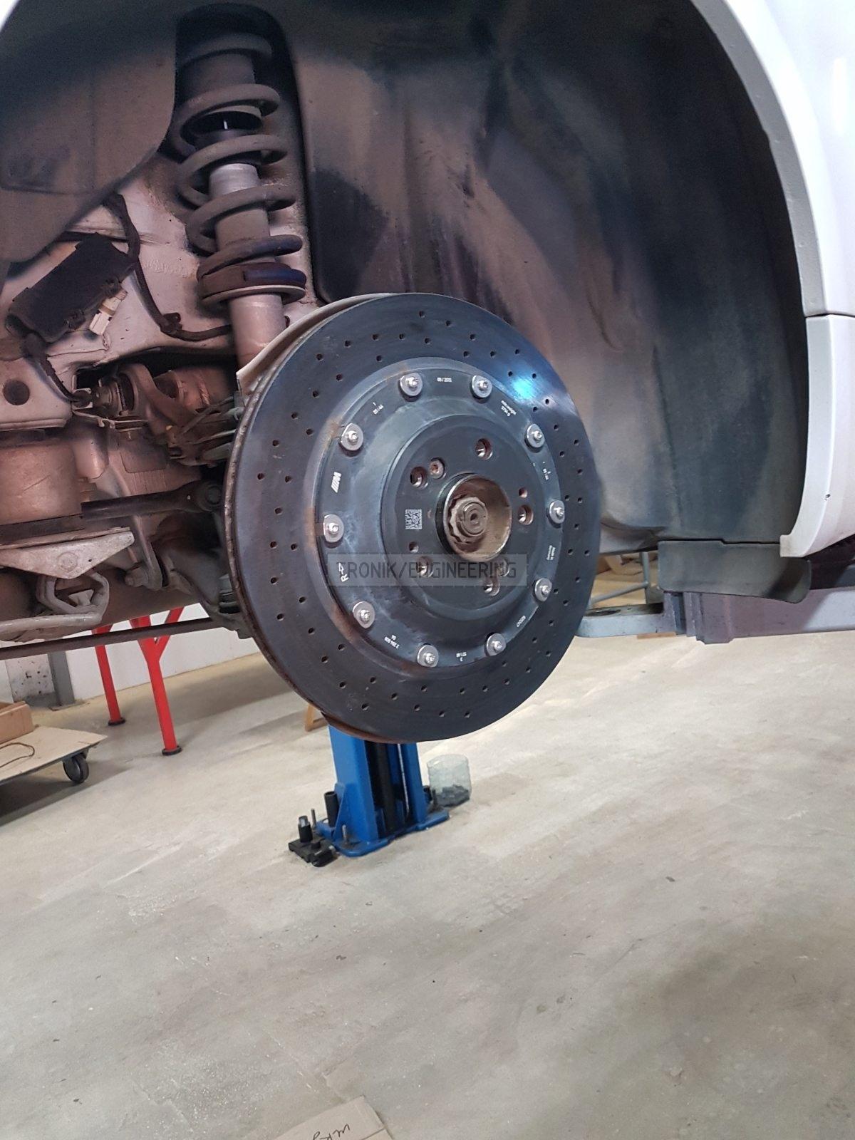 rear axle brake rotor 380-28