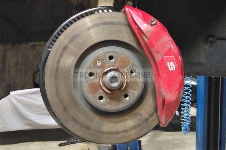 standard brake rotor & caliper