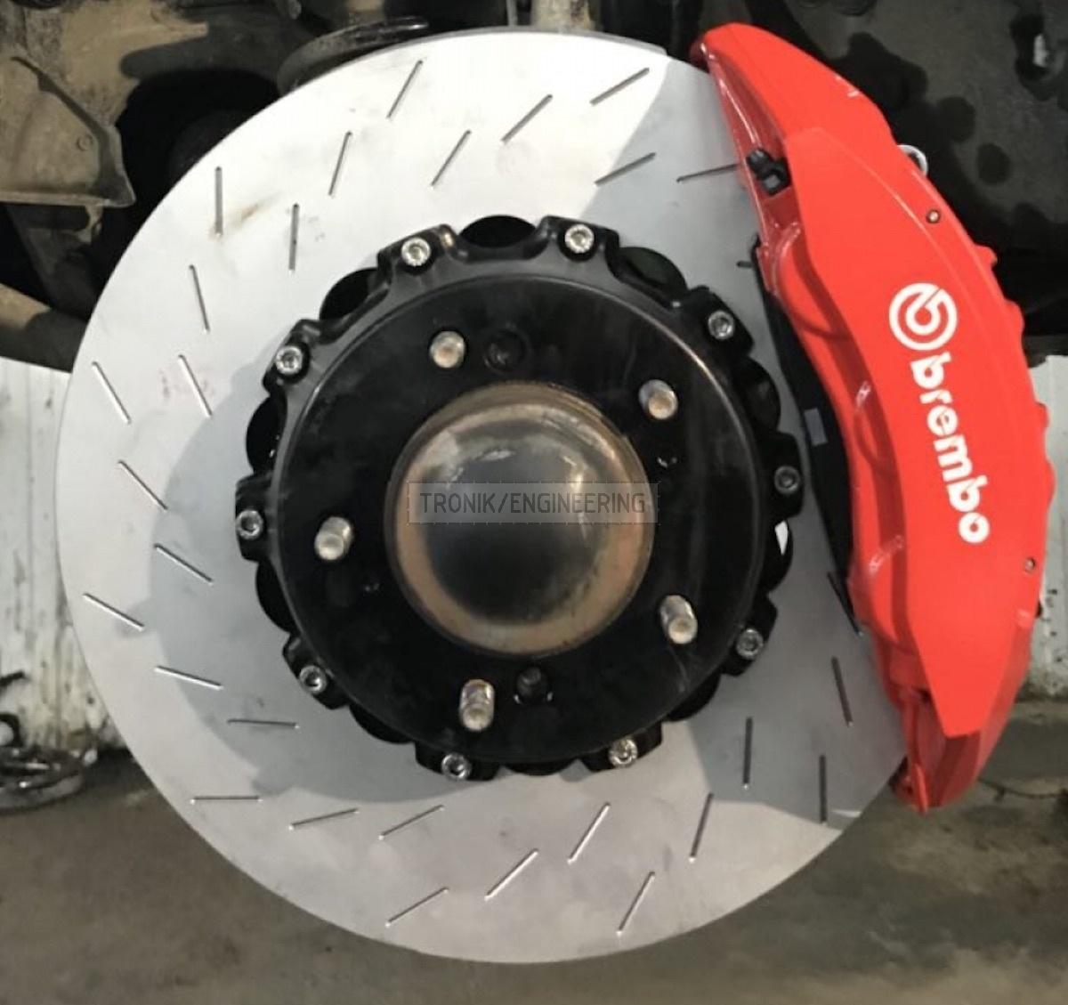 system & Brembo 6 pot caliper & rotor 410-36 pic3