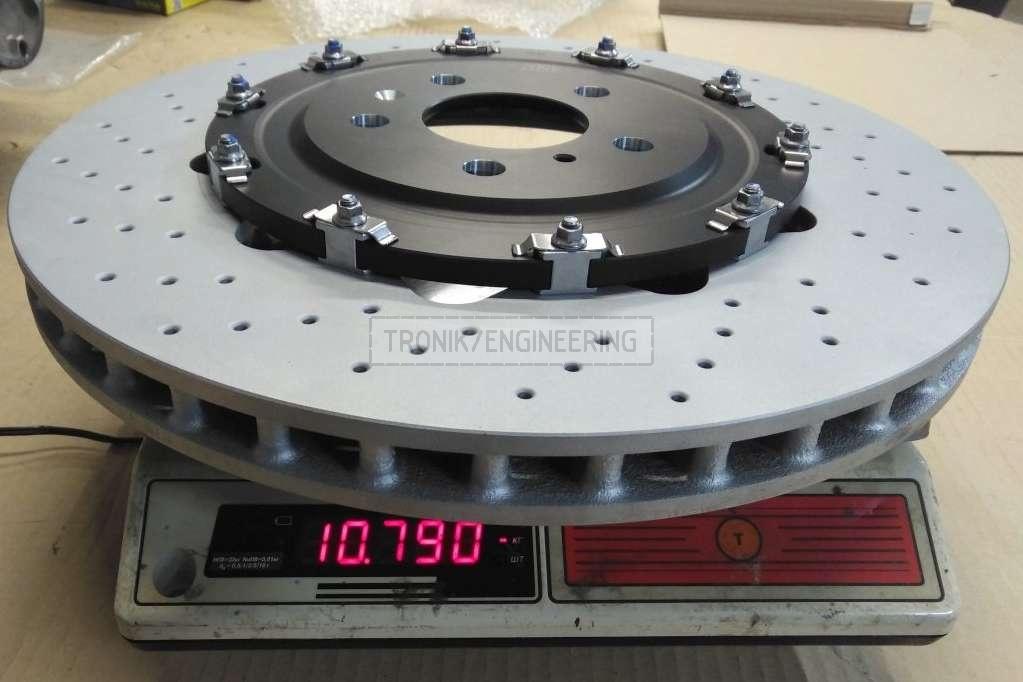 weighing brake rotor 10790