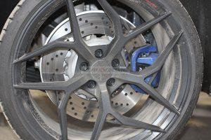 OEM rear BMW M5 F90 brakes