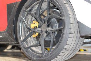 Rear carbon-ceramic brakes BMW M5 F90