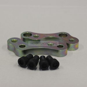 BMW F10 rear adapters for M5 caliper pic 1