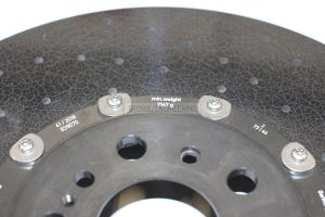 Minimal weight of right front rotor is 7 147g