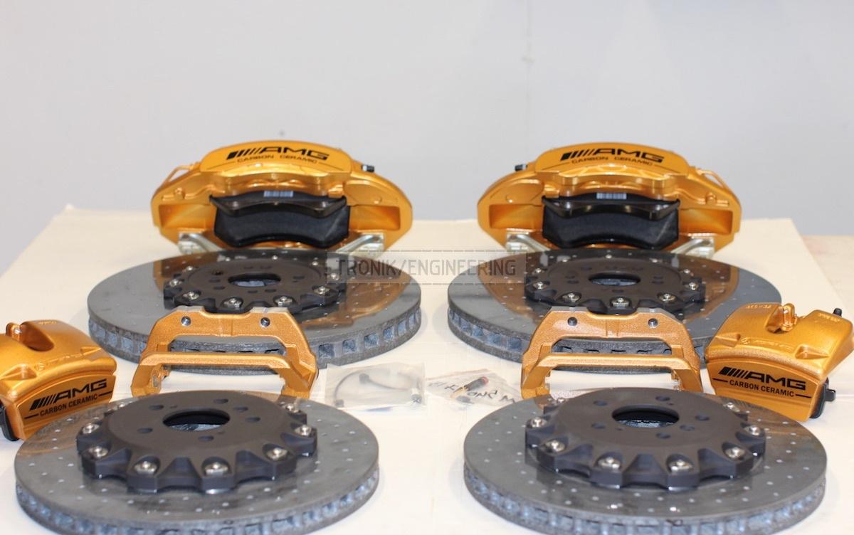 carbon-ceramic brake system kit