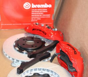 Mercedes Benz W205 W213 W253 brake system, not for 63AMG version, front axle pic 2