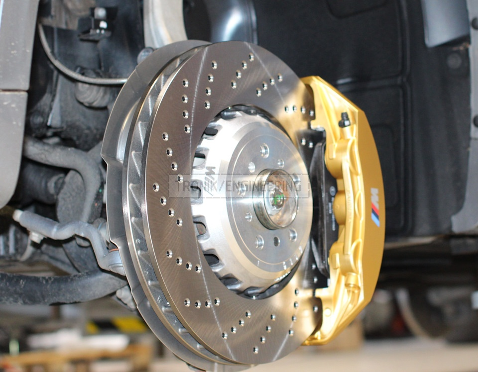 brake rotor 400-36 golden 6 pot caliper pic2