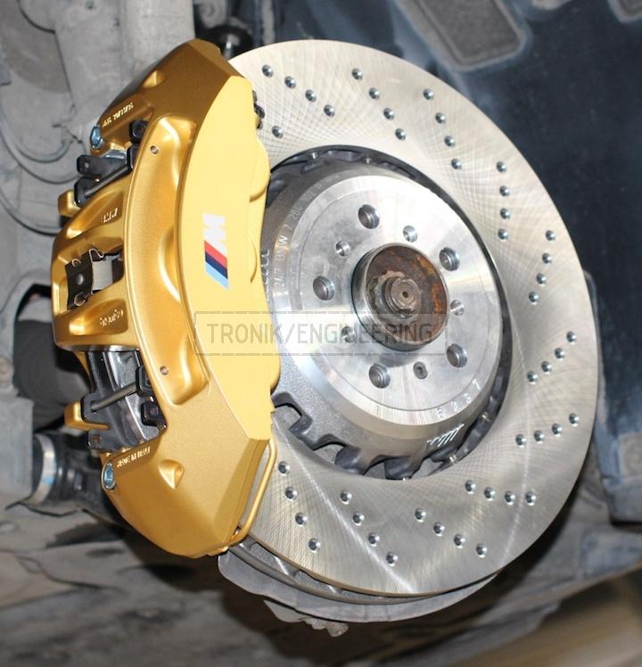 brake rotor 400-36 golden 6 pot caliper pic1