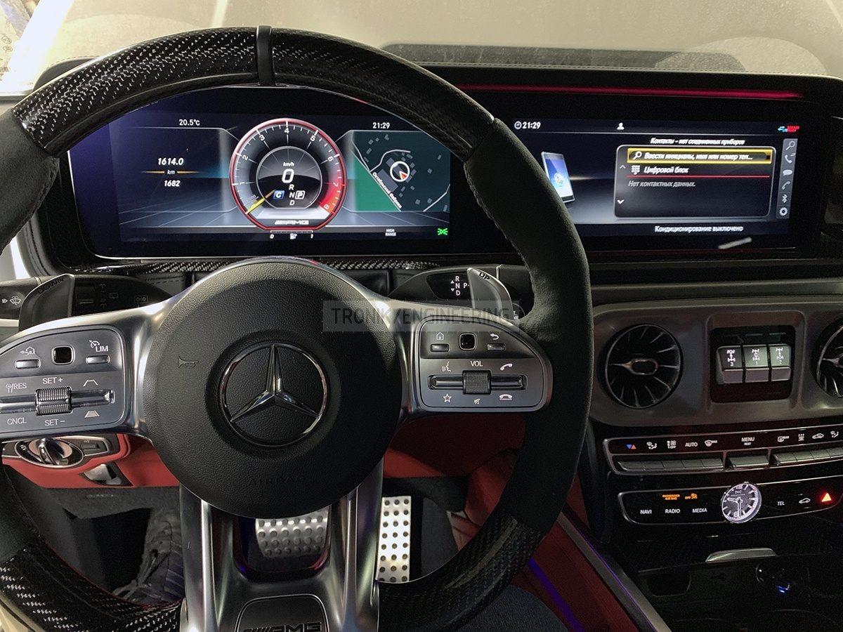 Mercedes Benz W463 276 interior
