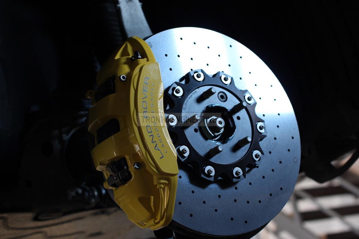 front axle 6 pot caliper & brake rotor410-36 pic 3