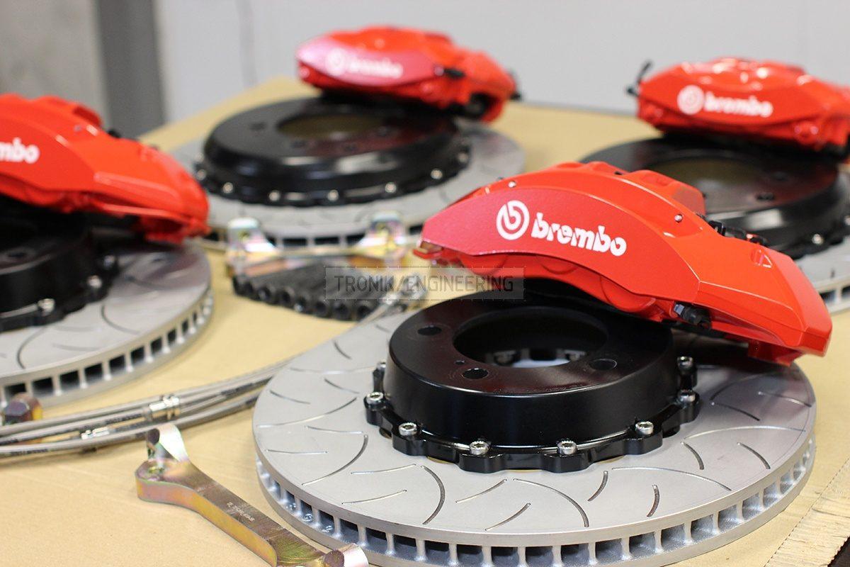 brake system set for Lexus LS 570 &  Toyota Land Cruiser 200 pic 3