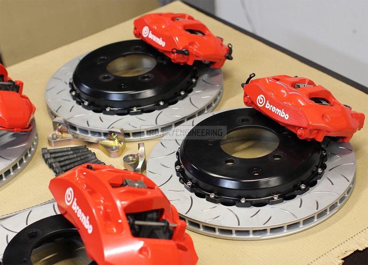 brake system set for Lexus LS 570 &  Toyota Land Cruiser 200 pic 4
