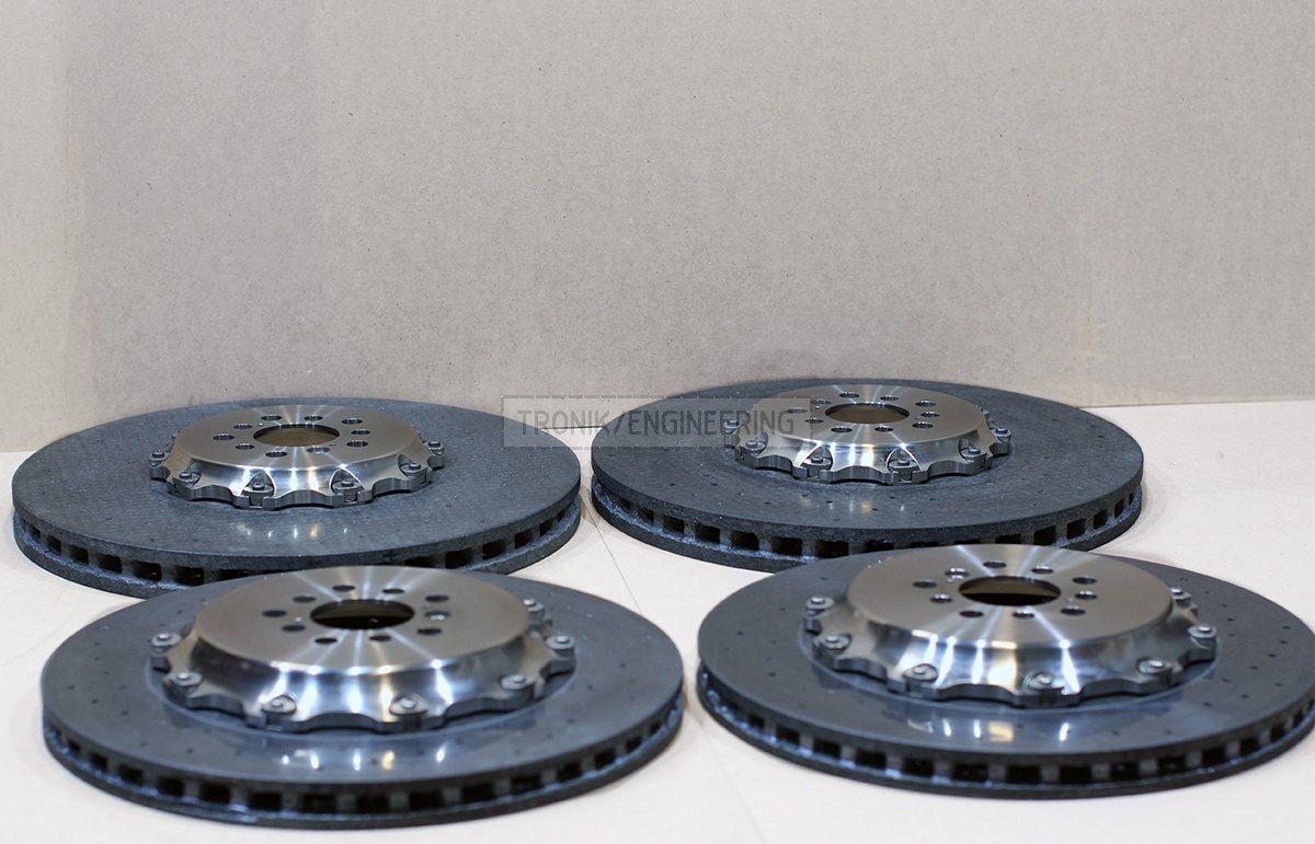 carbon ceramic brake rotors pic 1