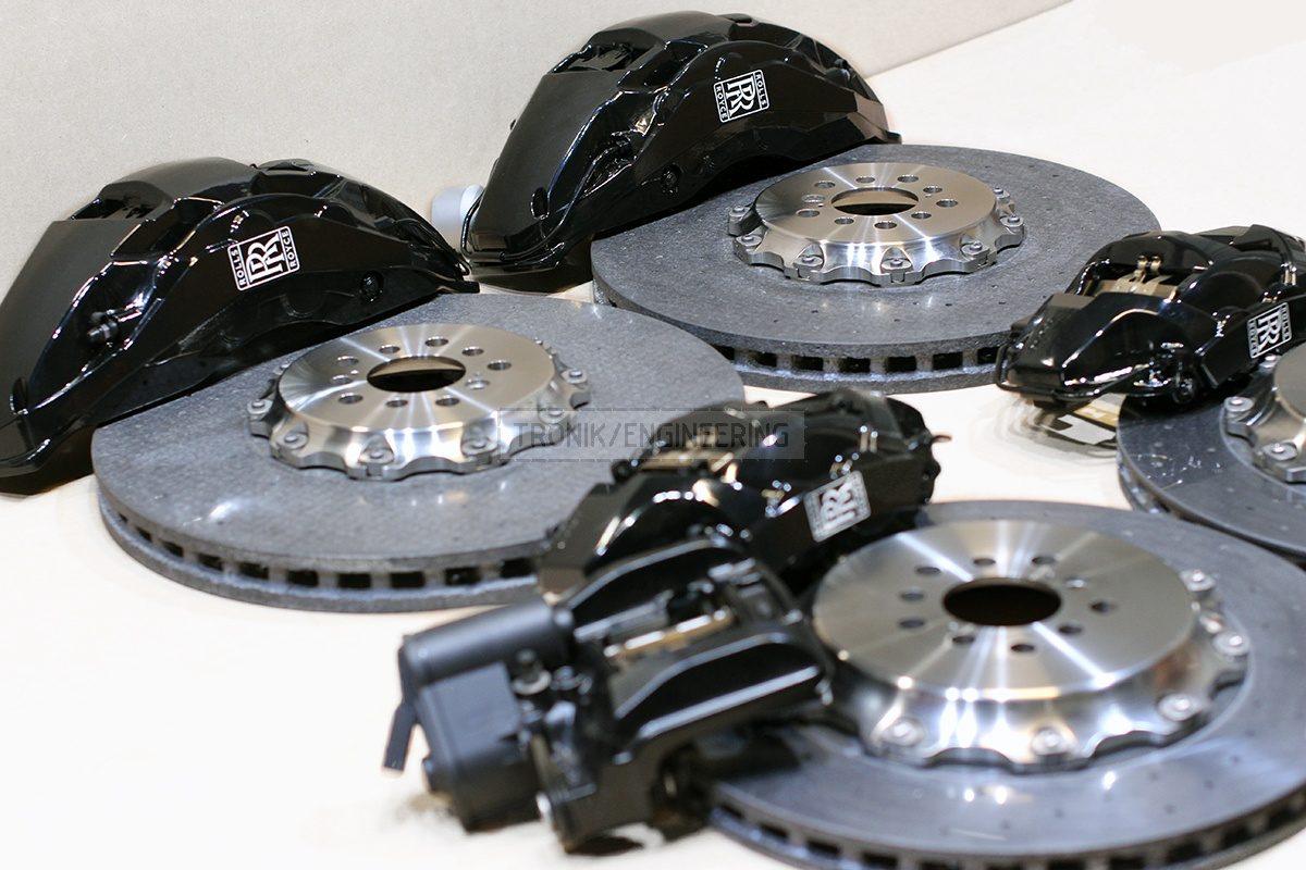 carbon ceramic brake system set pic 1