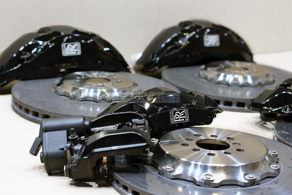carbon ceramic brake system set pic 2.