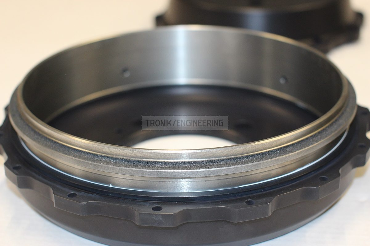 parking brakes drum fastening made of cast iron