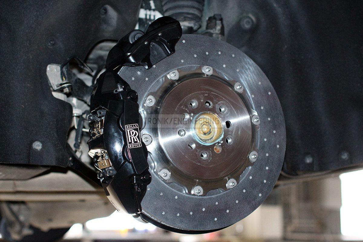 rear axle brake system